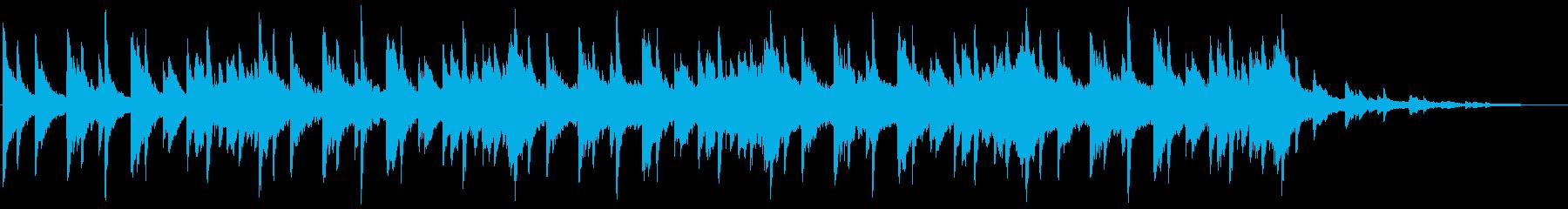 星空をイメージさせるBGMの再生済みの波形