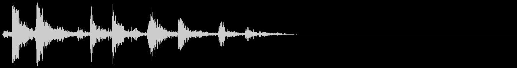 [生音]カシャッ、銃弾を装填する音06の未再生の波形