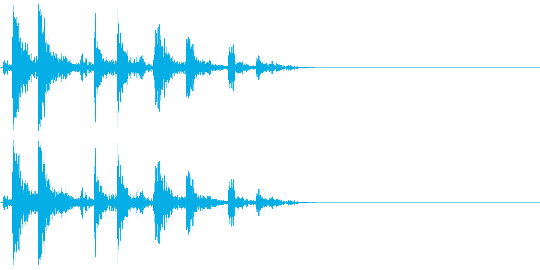 [生音]カシャッ、銃弾を装填する音06の再生済みの波形
