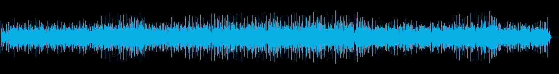 ポップでかわいい雰囲気のBGM|映像制作の再生済みの波形