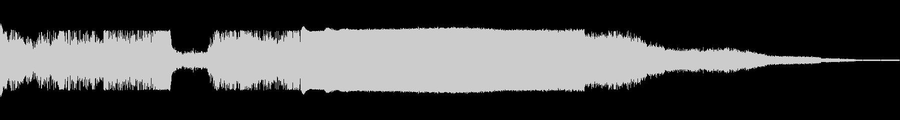 トーチフレーム溶射溶接aの未再生の波形