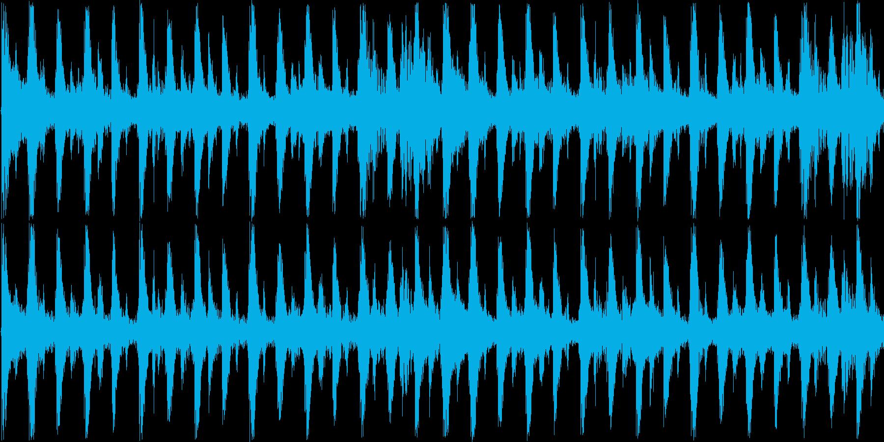 リズミカルなビートで軽快に前進-ループ可の再生済みの波形