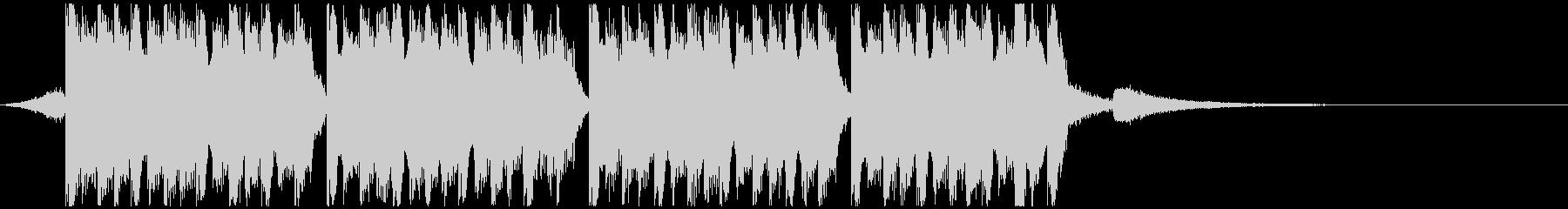 レーシング(15秒)の未再生の波形