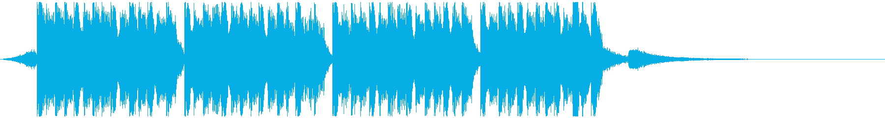 レーシング(15秒)の再生済みの波形