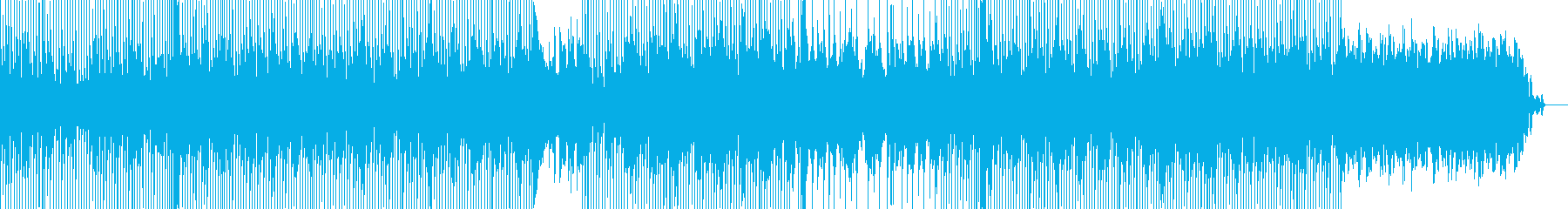 切ないダンスミュージックの再生済みの波形