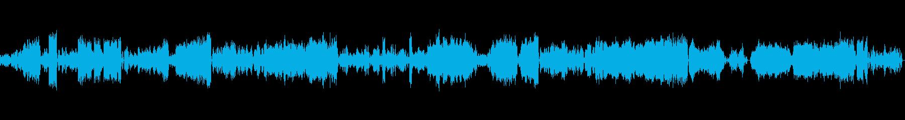 ピアノ協奏曲20番1楽章オーケストラの再生済みの波形