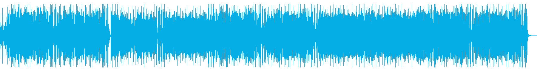 アップテンポでお洒落なジャズポップの再生済みの波形
