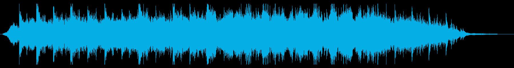 ダークな世界観をオーケストラで表現した曲の再生済みの波形