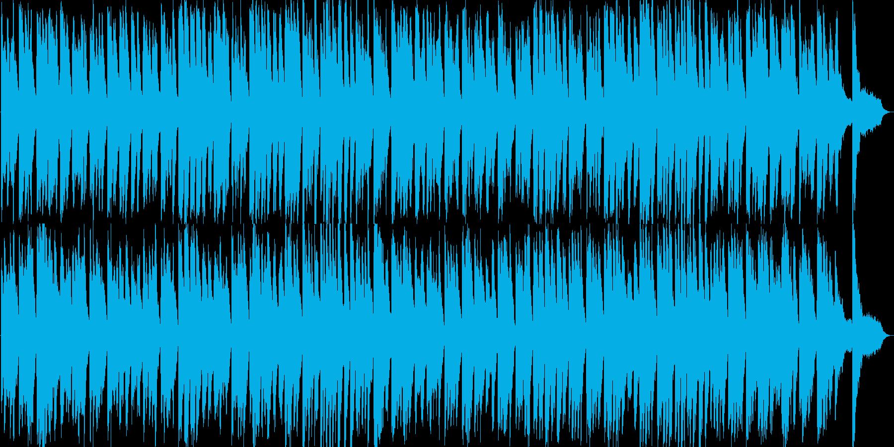和を感じるほのぼのテイストシンセの再生済みの波形
