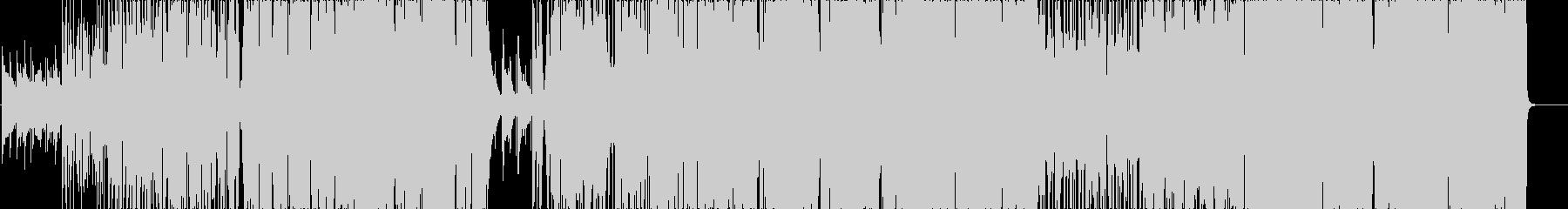 超絶技巧ボーカルのオシャレなR&Bの未再生の波形