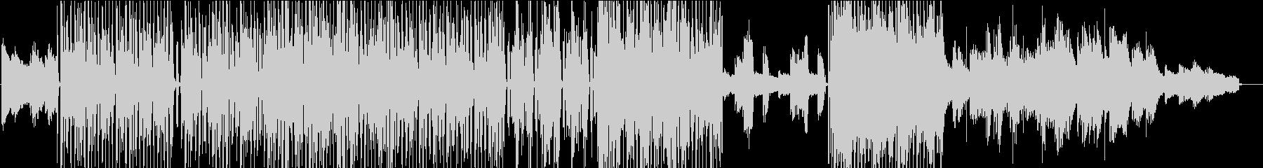エレクトロファンク、女性ボーカル英語詞の未再生の波形