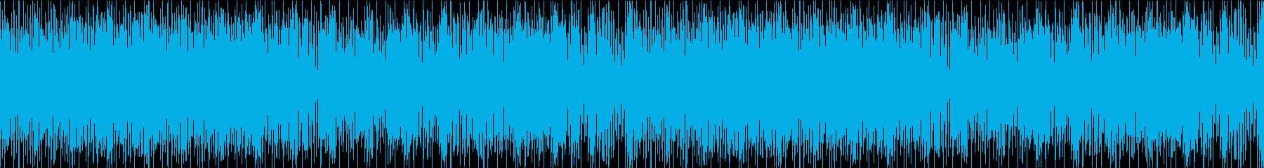 明るく可愛いBGM+ボイス系/ループ可能の再生済みの波形