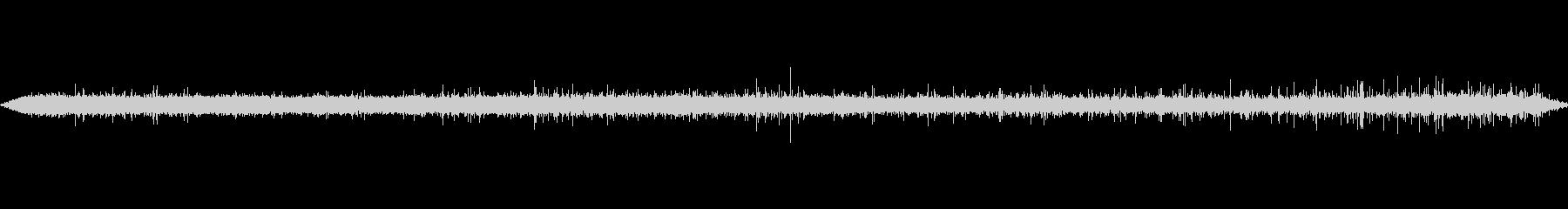 リバーフロースモールの未再生の波形