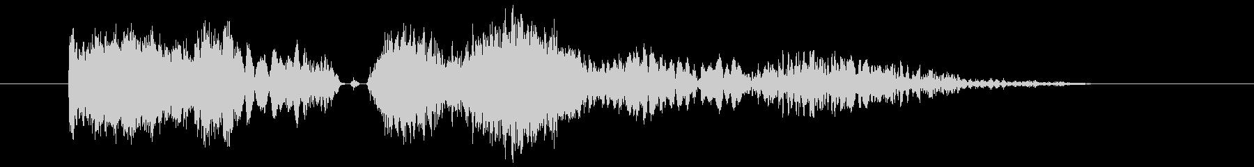 抽象スクラッチ遷移2の未再生の波形