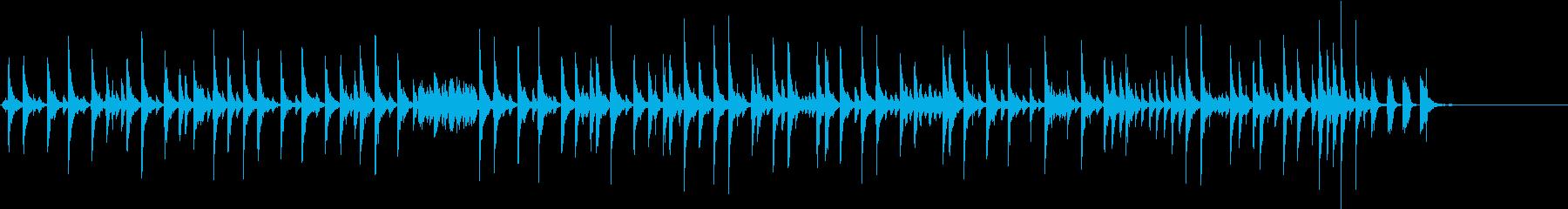 アコースティックドラムセット:スネ...の再生済みの波形