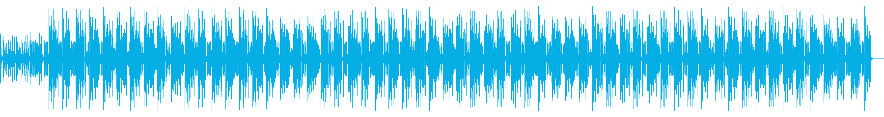 スタイリッシュ洋楽ヒップホップ・Vlogの再生済みの波形