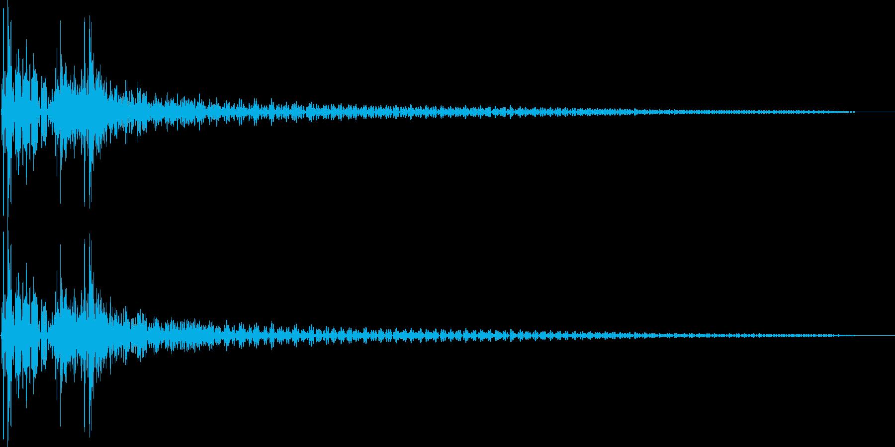 ドンカカっ(和太鼓)の再生済みの波形