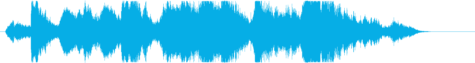 中東的な声とシタールの怪しいアンビ系の再生済みの波形