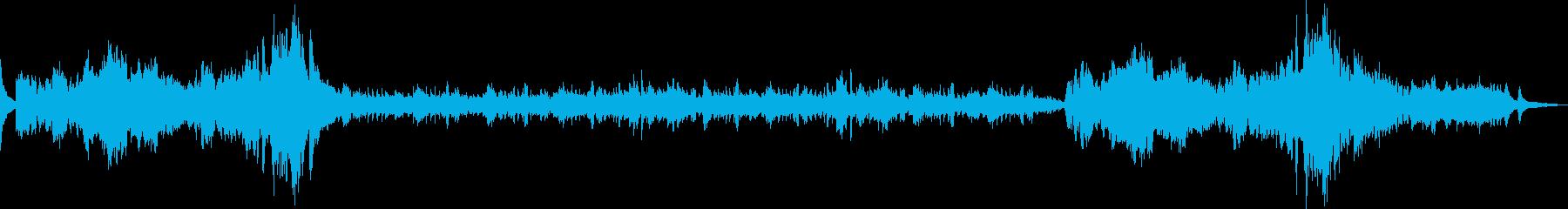 ショパンの有名曲 幻想即興曲の再生済みの波形
