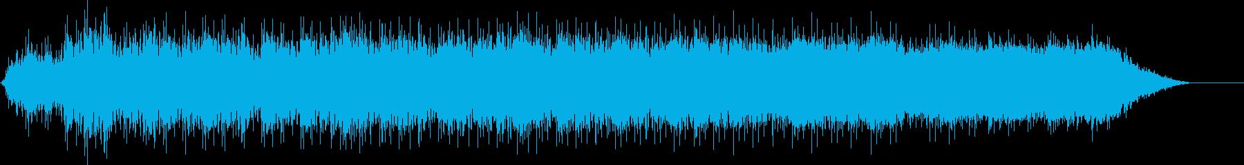 宇宙嵐の再生済みの波形