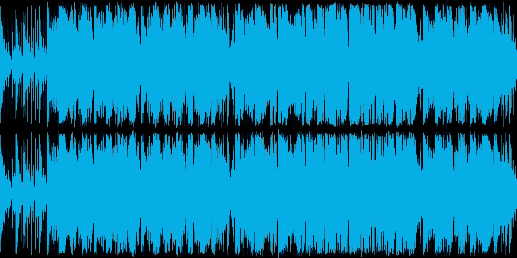 【ループ】ケルト風BGM(自然・広大)の再生済みの波形