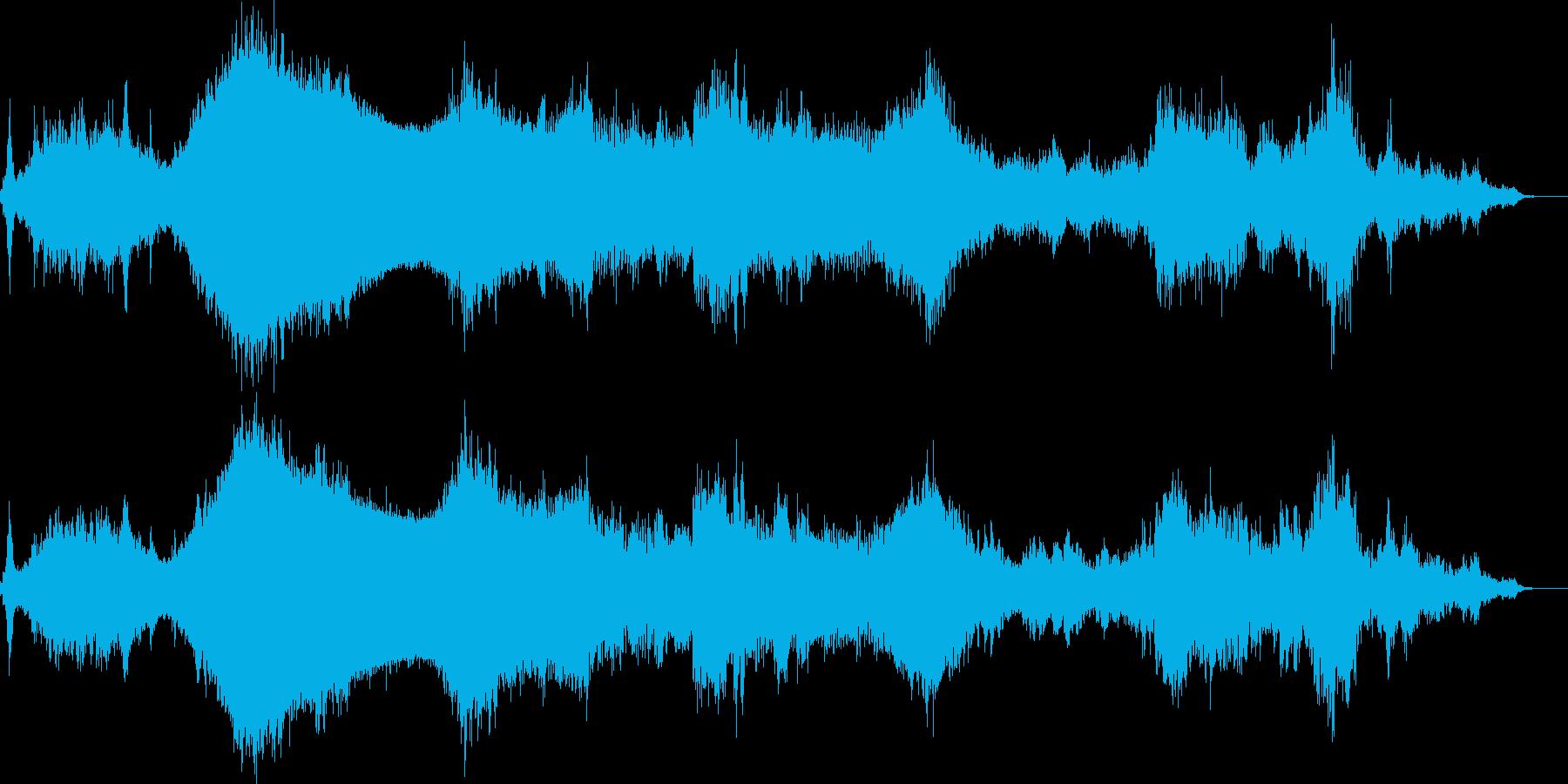 沼地のようなホラードローンの再生済みの波形