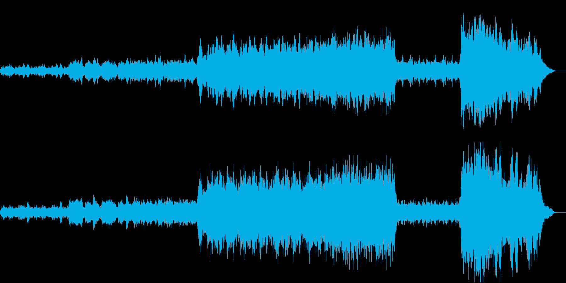 小オーケストラ スロー ロマンチックの再生済みの波形