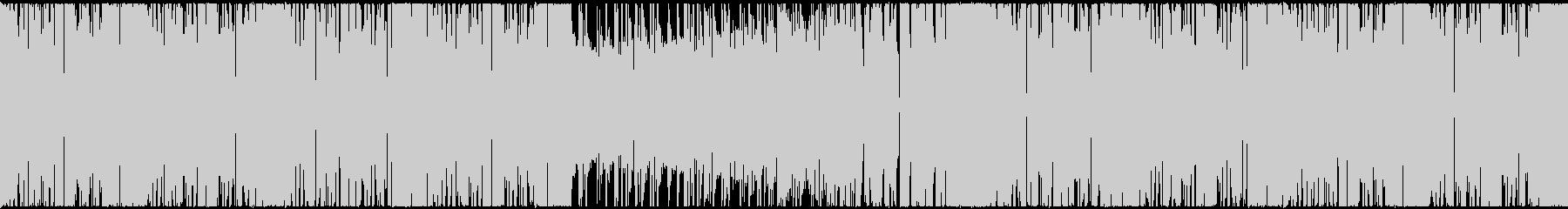 【ループ対応】かわいいEDM CM 動画の未再生の波形