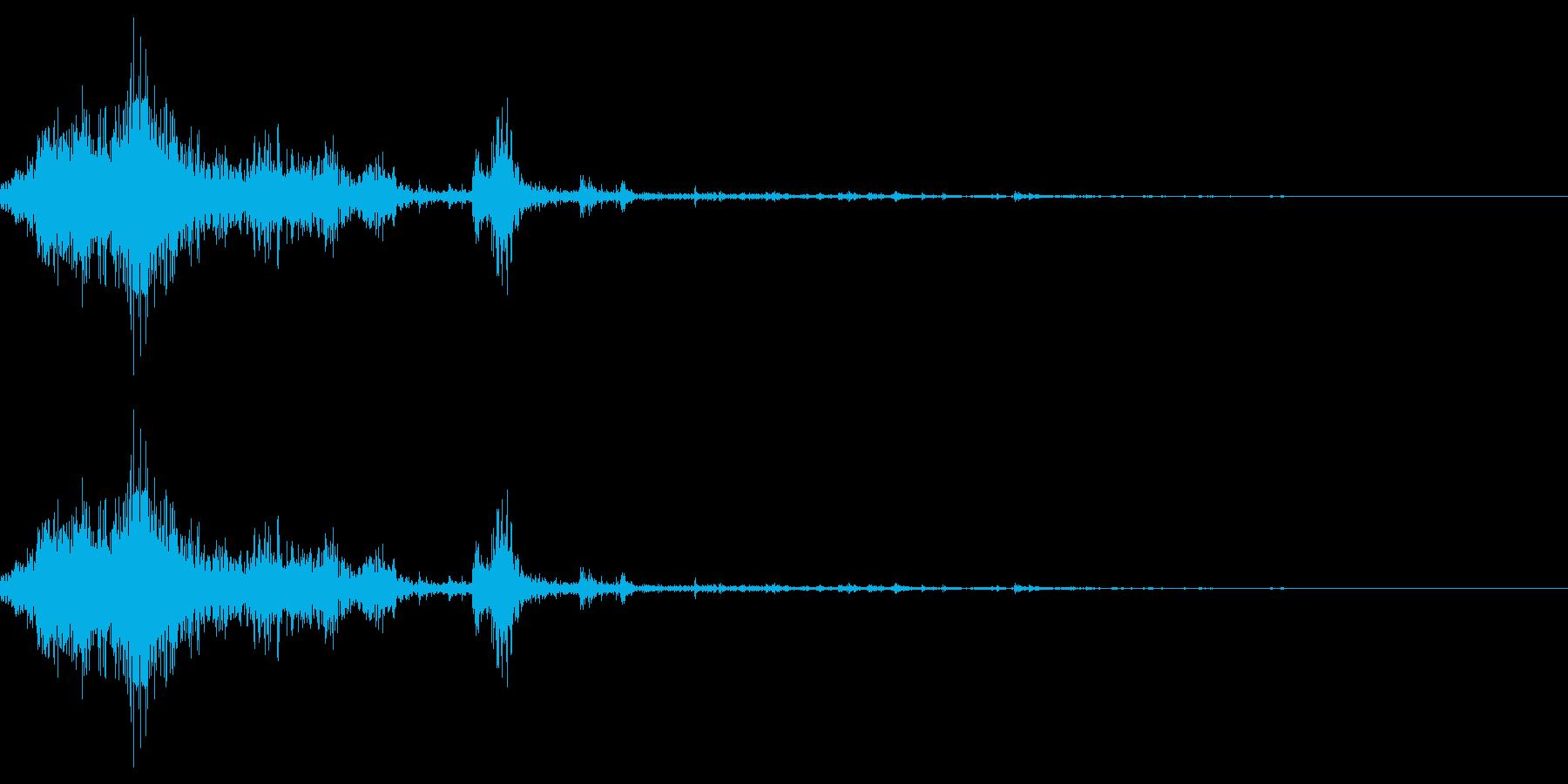 雪かきの効果音 08の再生済みの波形