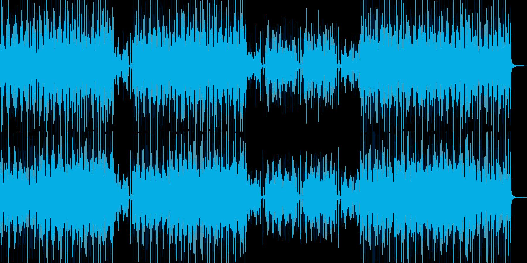 気分が弾む雰囲気・スィングポップ Dの再生済みの波形