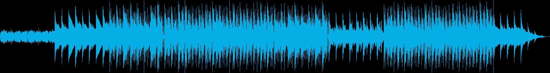 トロピカルハウス、雄大なる大海原、空撮系の再生済みの波形