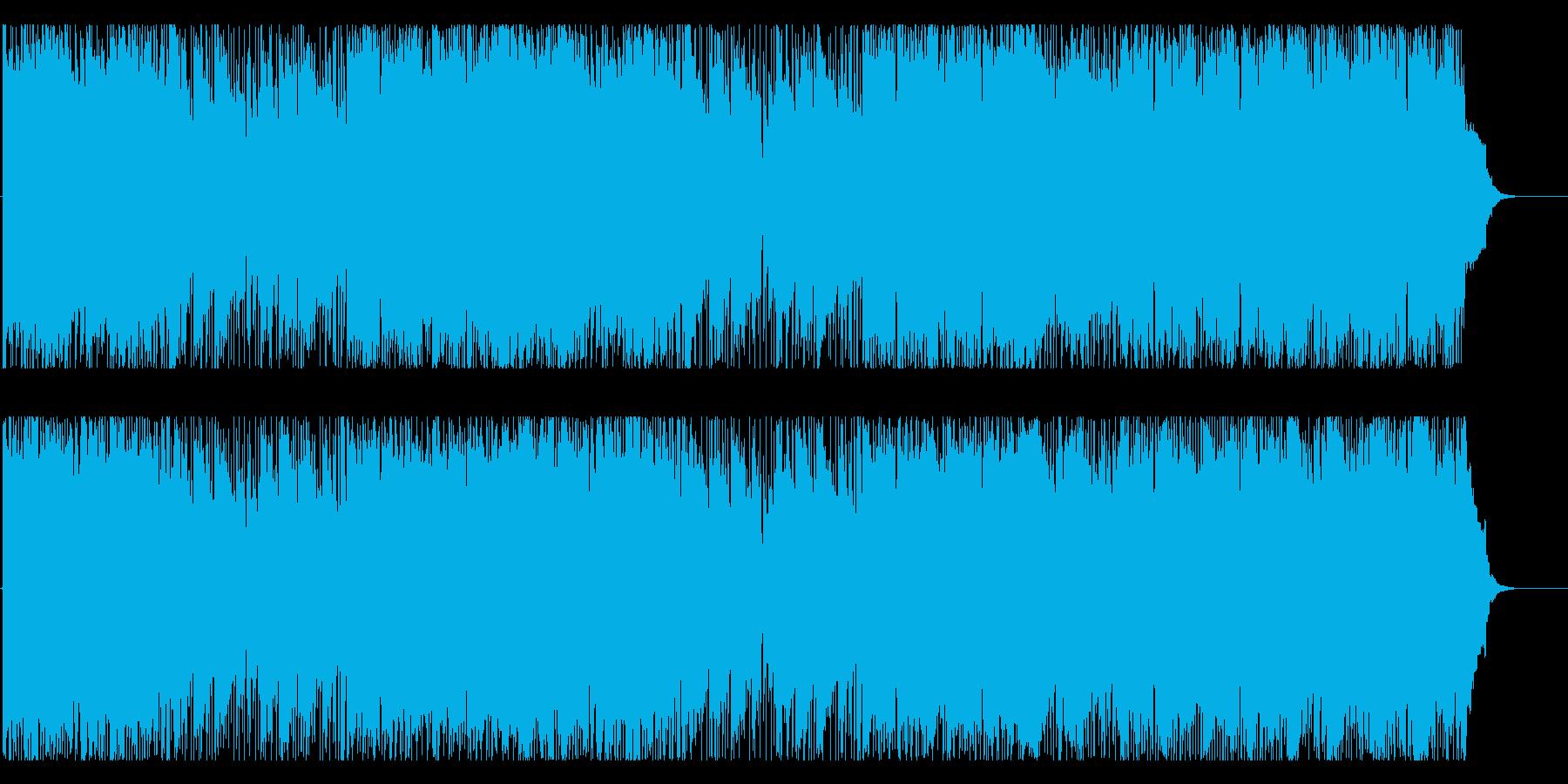 ドラマ サスペンス 躍動 前進 大空の再生済みの波形