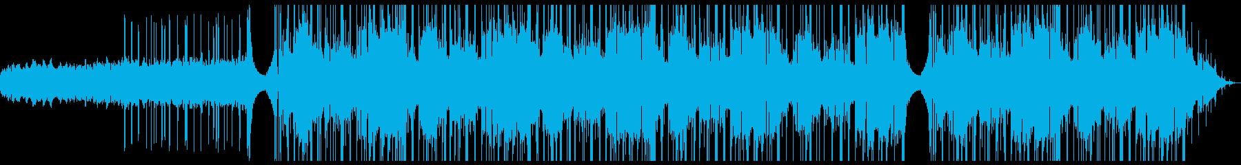わなわなした雰囲気の調べの再生済みの波形