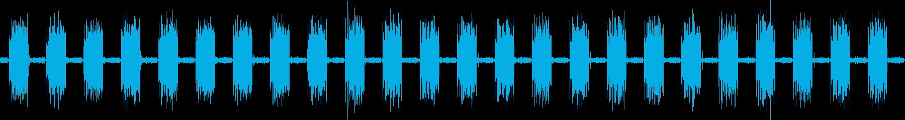 コンピュータープリンターアタリドッ...の再生済みの波形