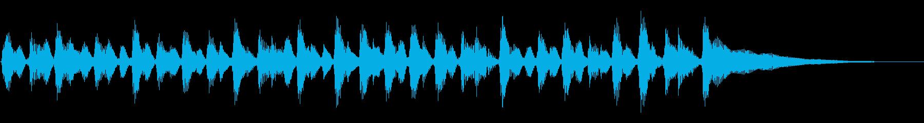 15秒CM、アコギリズム、商品紹介等の再生済みの波形