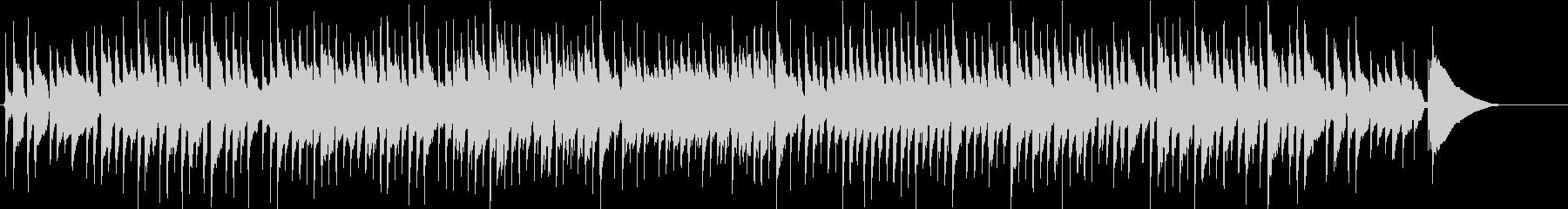 アコギ生演奏 クリスマス ワルツの未再生の波形