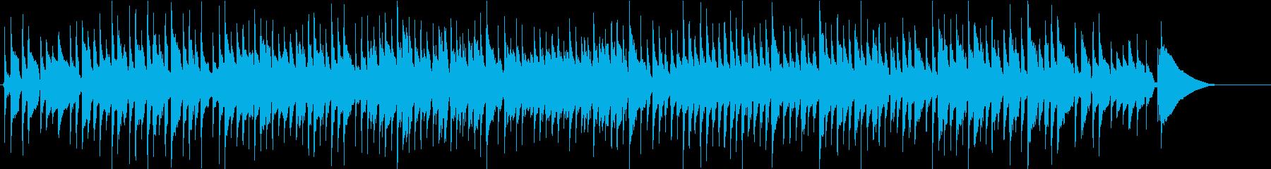 アコギ生演奏 クリスマス ワルツの再生済みの波形