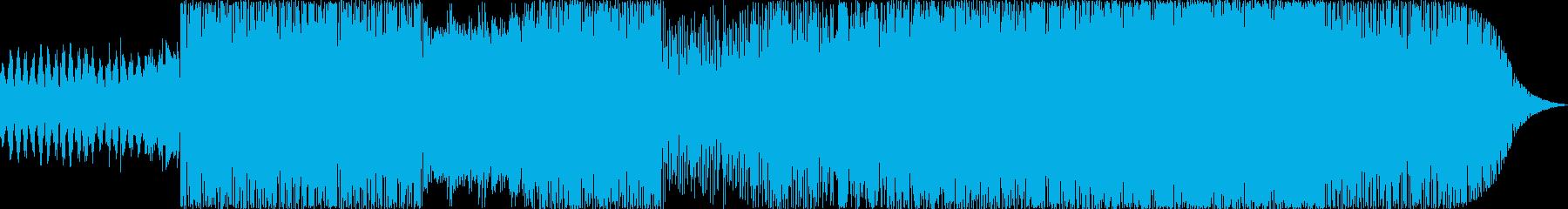 浮遊感と疾走感のあるドラムンベースの再生済みの波形