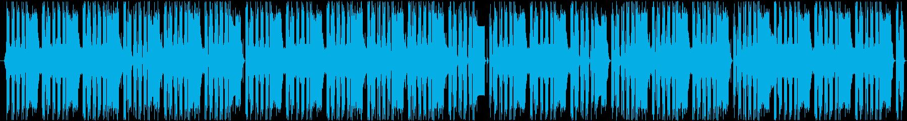 切なさあふれるミュージックの再生済みの波形