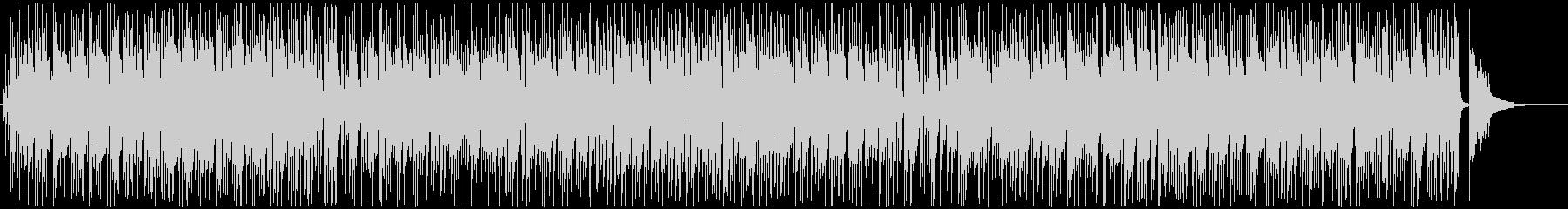 ピアノとサックスのボサノバジャズ♪の未再生の波形
