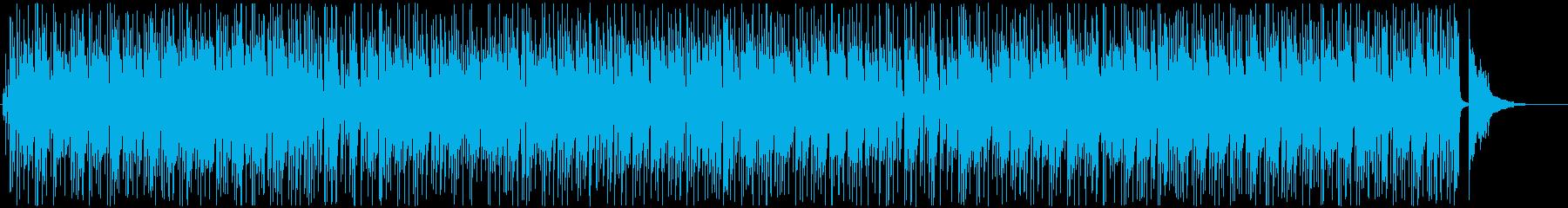ピアノとサックスのボサノバジャズ♪の再生済みの波形