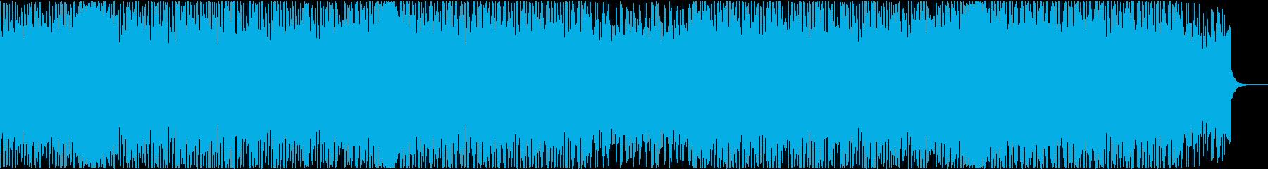 シンセ、4つ打ち、疾走感、アップテンポの再生済みの波形