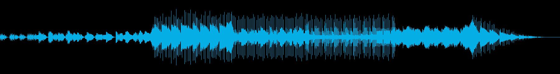 切なくしっとり優しいピコピコBGMの再生済みの波形