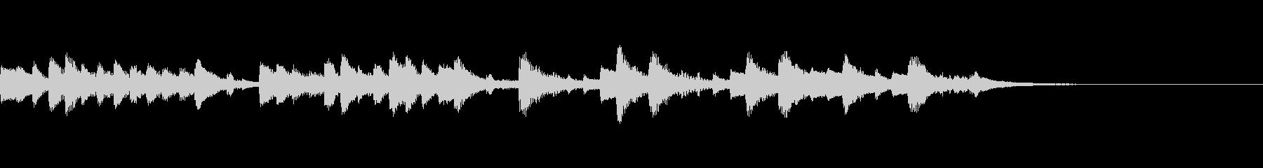 ビバルディ・マンドリン協奏曲のパロディ風の未再生の波形