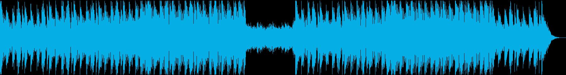 風の日、壮大シリアスエレクトロ-17の再生済みの波形