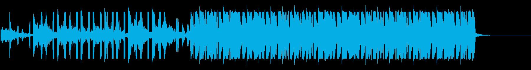 リードのフルートが印象的なハウスの再生済みの波形
