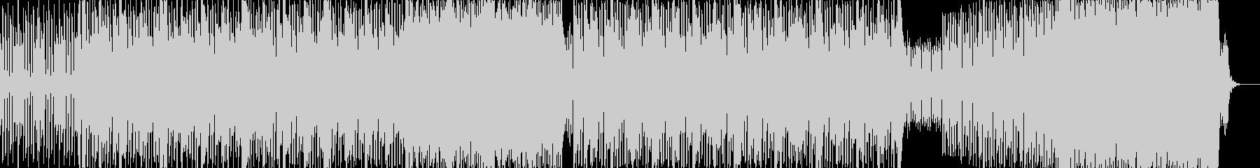 シンセの音が心地よいグルーヴ感のあるB…の未再生の波形