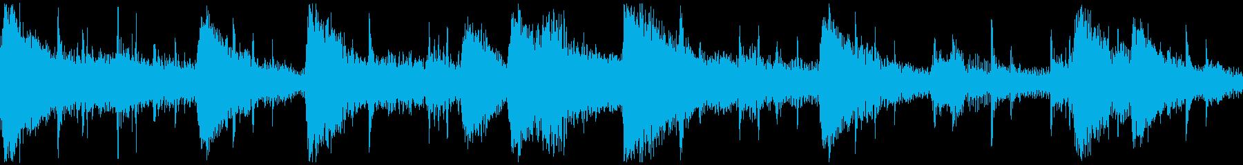 <ショートループ> ピアノ③+ビートBの再生済みの波形