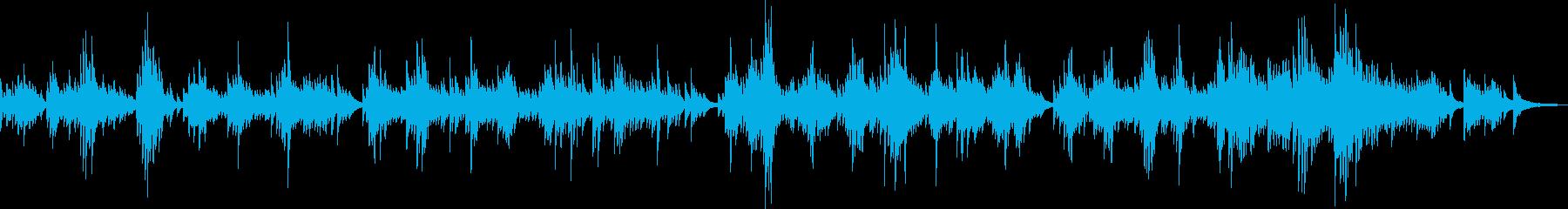 感動的なピアノバラード(温かい・優しい)の再生済みの波形