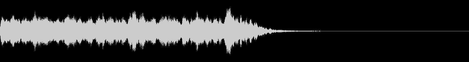 シンセベルが奏でる少し切ない駅メロの未再生の波形
